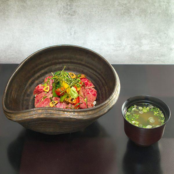 Menu Steak de boeuf japonais don