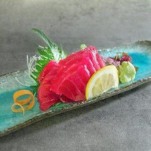 Sashimi de Thon albacore 18€